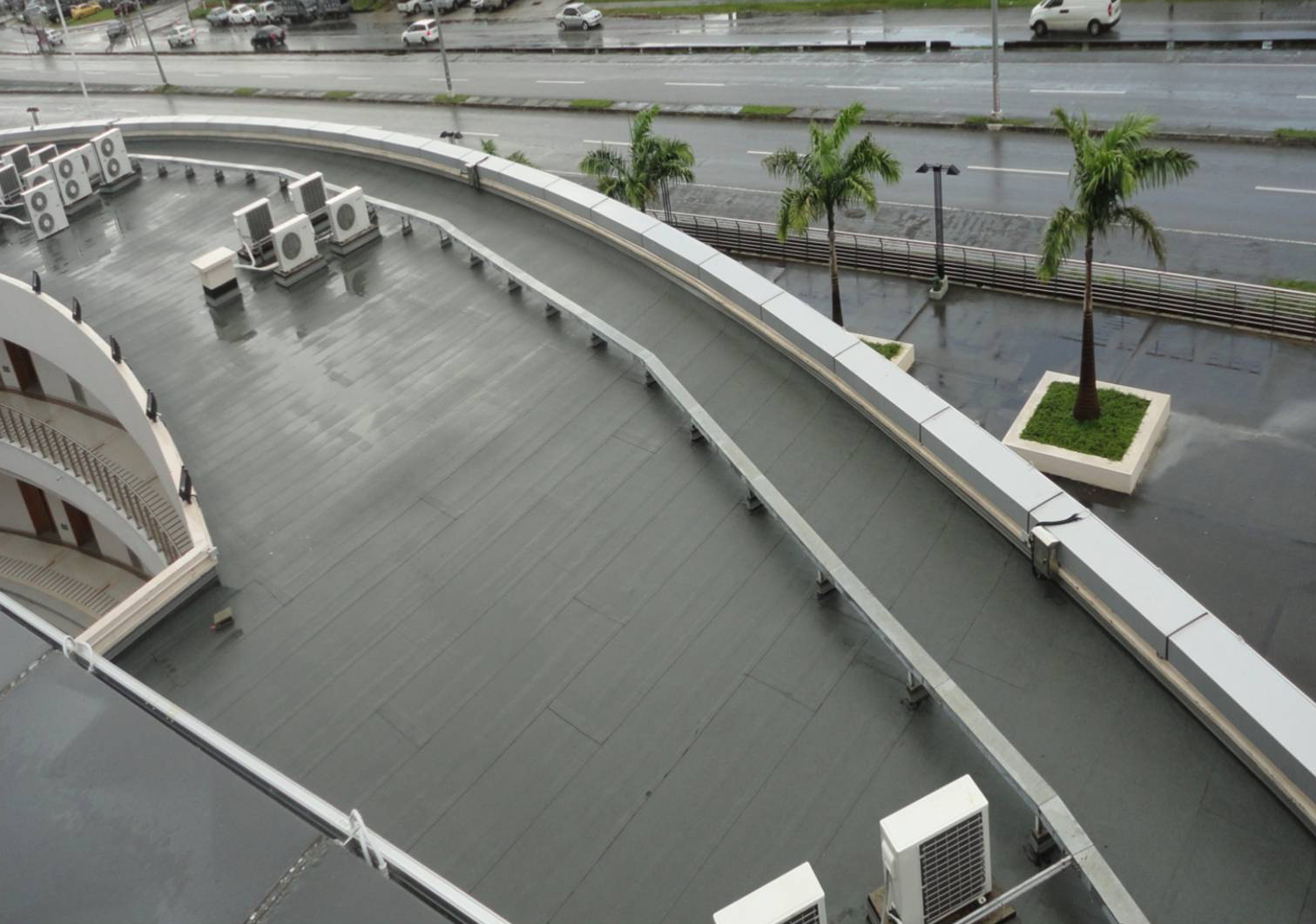 polymer modified bitumen - Rubberised Roof Membrane